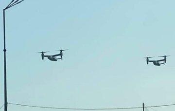 Над Киевом заметили военную авиацию США: впечатляющее видео
