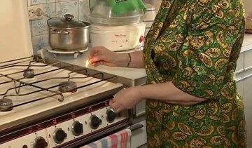 газ, плита
