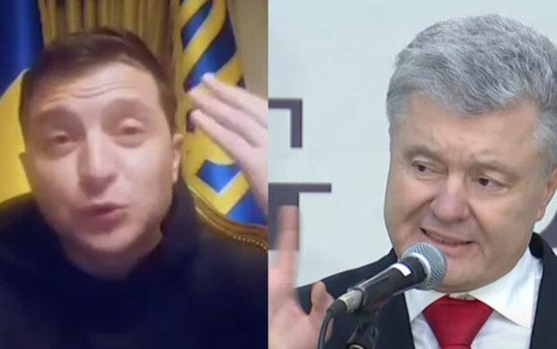 """Зеленский и Порошенко устроили разборки в сети, кто больше украл в украинцев: """"Это уже агония"""""""
