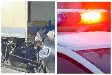 Трагедия на трассе Киев-Одесса, авто смяло от удара в грузовик: первые кадры аварии