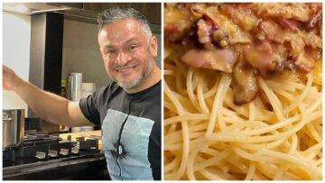 """Судья """"Мастер Шеф"""" Хименес-Браво научил, как правильно готовить """"ту самую"""" карбонару: """"Без сливочного масла и..."""""""