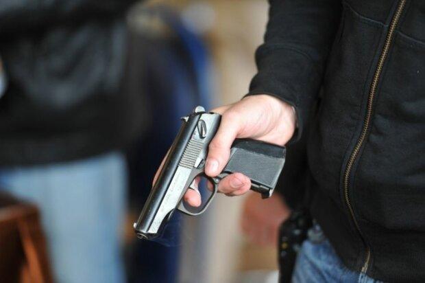 пистолет оружие