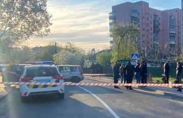 Під Києвом неадекват наїхав на поліцейського і влаштував три ДТП: кадри і деталі свавілля