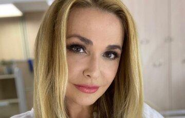 """54-летняя Ольга Сумская в вышиванке впечатлила внешностью на съемках: """"Пусть все украинские женщины..."""""""