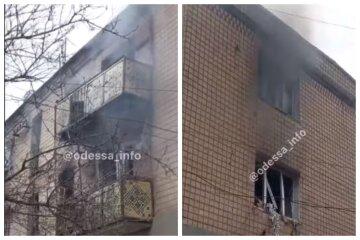 """Взрыв газа произошел в одесском общежитии, видео ЧП: """"повылетали люди и стекла"""""""