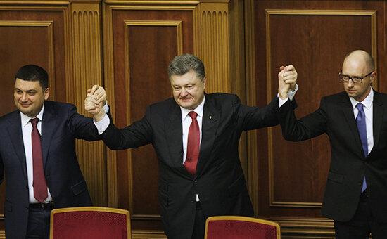 Первое заседание Верховной рады Украины VIII созыва