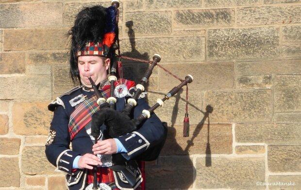 волынка Шотландия музыка духовые инструменты