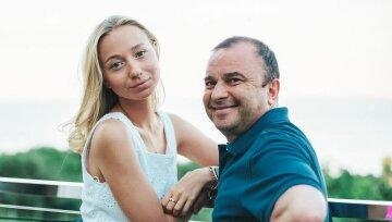 Виктор Павлик с женой