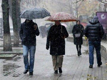зима, погода