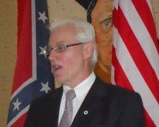 лидер Американской нацистской партии Рокки Сухайда