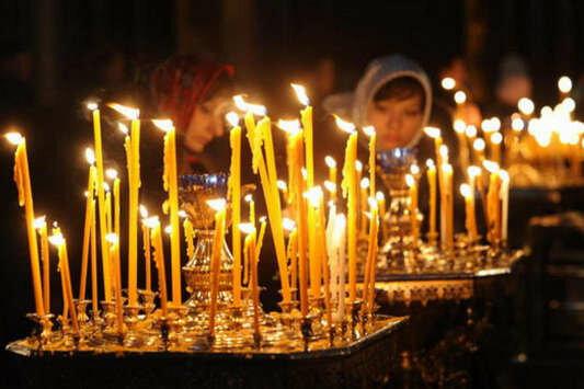 церковь, свечи