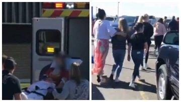 """Стрілянина прогриміла в школі, кадри і дані про поранених: """"Дитина витягла пістолет з рюкзака"""""""