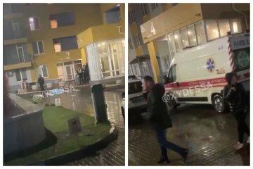 Большое горе в Одессе, ребенок выпал из окна высотки: кадры и трагические подробности