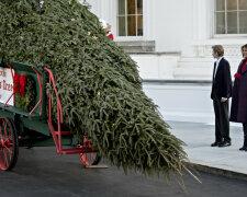Мелания Трамп и елка