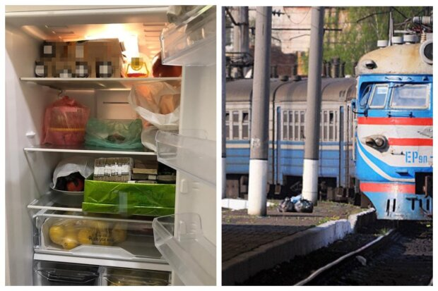 """""""Укрзализныця""""  провернула грандиозную аферу на Одесчине, фото: """"деньги нашли в холодильнике"""