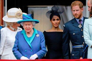 принц гаррі меган маркл королева єлизавета