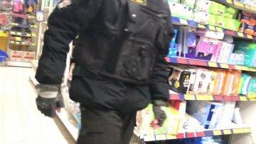 супермаркет, охрана