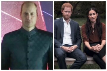 принц уильям, принц гарри, меган маркл