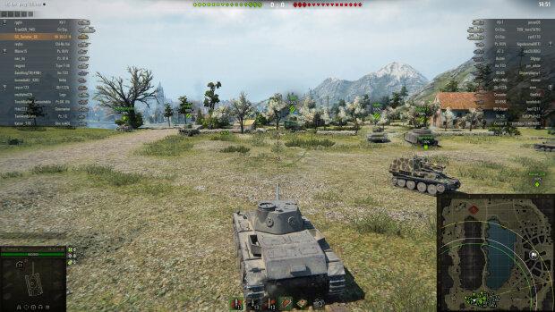 World of Tanks компьютерная игра