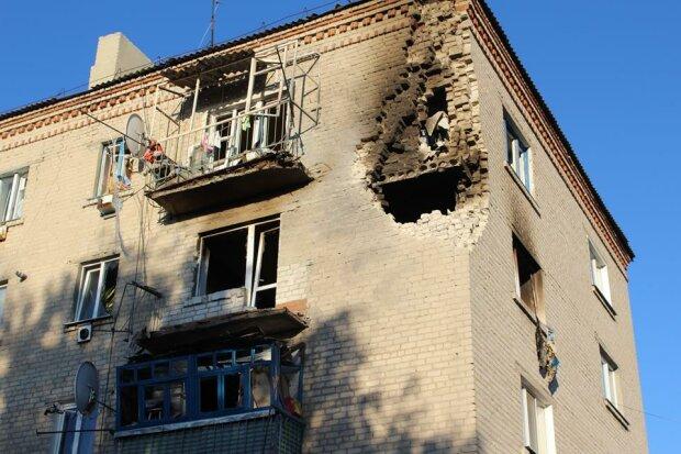 В Сватово сгорели семь частных домов – МВД