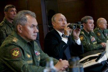 Владимир Путин с военными