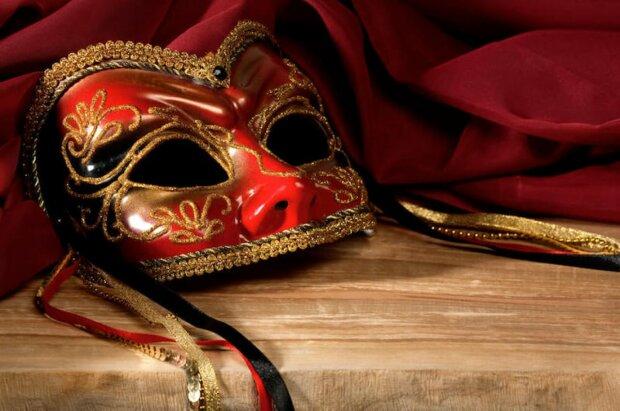 день театра, маска