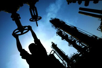 Нефть, кран,