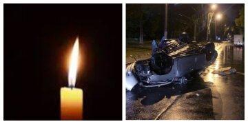 """Жизнь 22-летней одесситки унесла авария, кадры с места трагедии: """"машина перевернулась и..."""""""