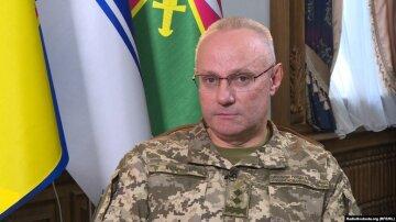 """У Збройних силах розповіли про хворобу Хомчака: """"два тижні знаходиться..."""""""