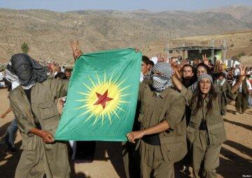 Боевики Рабочей партии Курдистана