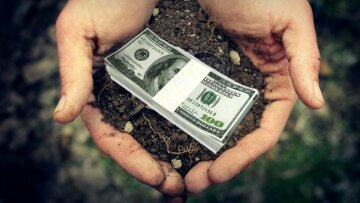 земля деньги