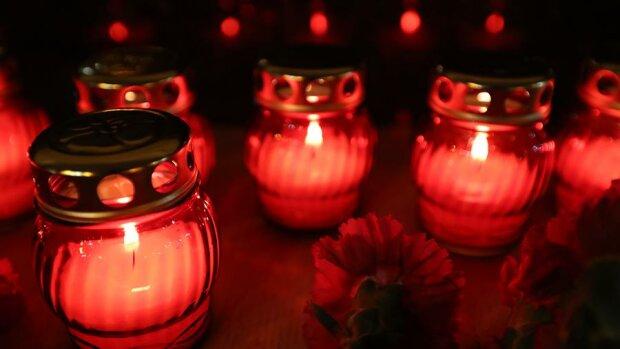 свечи, траур, смерть