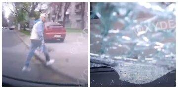 В Одесі сталася моторошна аварія, авто відкинуло на пішохода: момент потрапив на відео