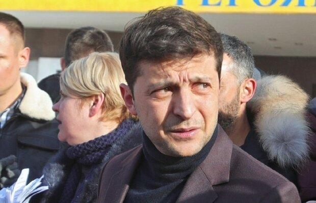 Зеленский, президент Украины