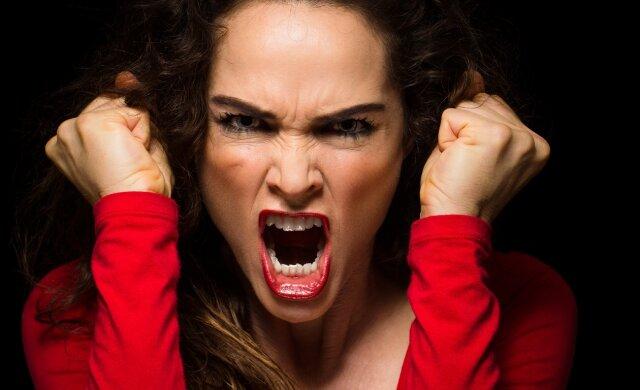эмоции, злость, ярость
