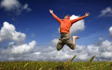 радость, счастье, лето, весна