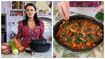 """Переможниця """"Майстер Шеф"""" Глинська поділилася новорічним рецептом м'яса з овочами: """"Неймовірно смачно!"""""""