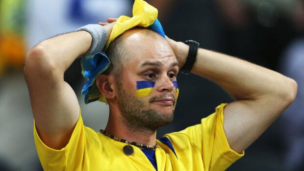Болельщик Украины футбол