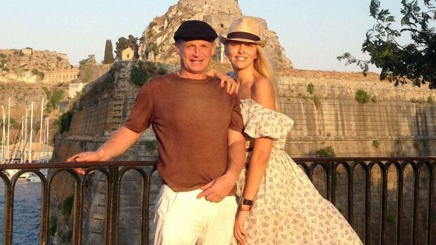 Оля Полякова с мужем, Ольга Полякова