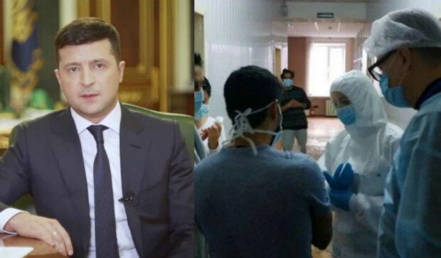 коронавирус, Владимир Зеленский, врачи