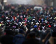 толпа, давка, люди