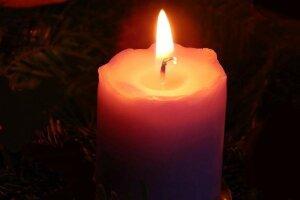 Свічка, траур, день пам'яті