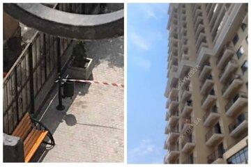 """В Одесі хлопець випав з вікна багатоповерхівки на очах у людей: """"Дивлюся вгору, а він летить"""""""