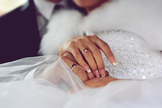 жених, невеста, свадьба, кольца