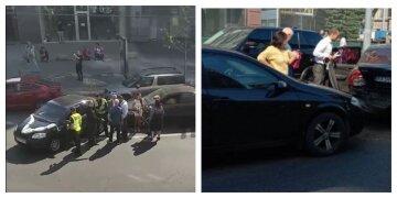 """Весільний кортеж потрапив у ДТП у Харкові, відео: """"зіткнулися на перехресті"""""""