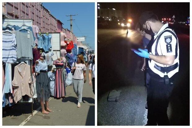 """Тело беременной женщины без одежды нашли возле рынка """"7 километр"""" под Одессой: кадры слили в сеть"""
