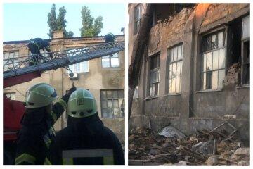 НП в Одесі: величезна будівля впала на тротуар, кадри з місця
