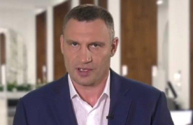 Виталий Кличко, брифинг