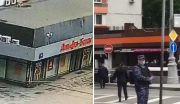 """Работников столичного банка захвалили в заложники, первые подробности: """"заблокировал вход и..."""""""