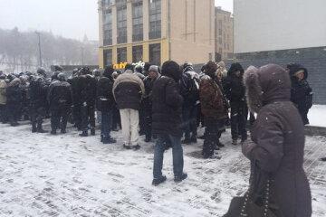 У Майдана собираются «шатуны» (фото)